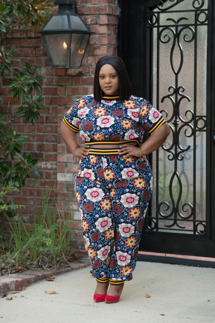 Floral Pant Suit-0224