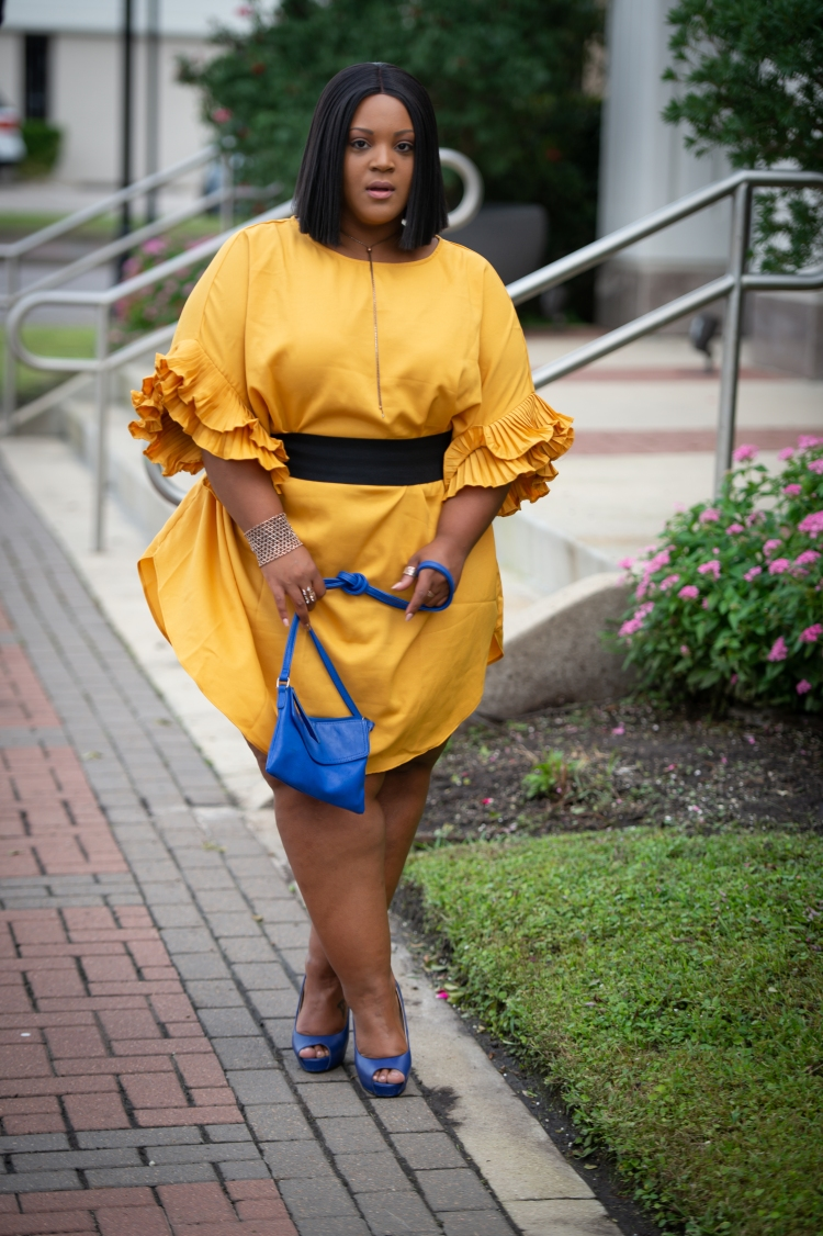 Ash W - Yellow Mustard Dress-0005